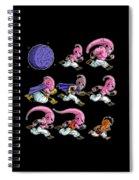 Evolutions Spiral Notebook