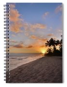 Ewa Beach Sunset 2 - Oahu Hawaii Spiral Notebook