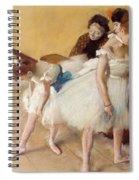 Examen De Danse-dance Examination Spiral Notebook