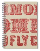 Examples Of Letters  Spiral Notebook