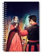 Execution Of Mary Queen Of Scots Spiral Notebook