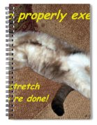 Exercise 101 Spiral Notebook