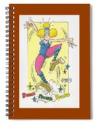Exercise Wisely Spiral Notebook