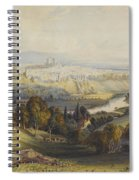 Exeter From Exwick, 1773 Spiral Notebook