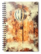 Exhibit In Adventure Spiral Notebook