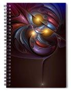 Existential Sonata Spiral Notebook