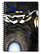 Exiting The Mother Ship Spiral Notebook