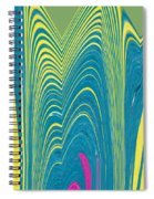 Exloring The Heart Of The Flower Spiral Notebook