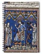 Exodus: Plague Of Hail Spiral Notebook
