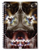 Exogenic Symmetry 1 Spiral Notebook