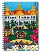 Exotic Bangkok Spiral Notebook