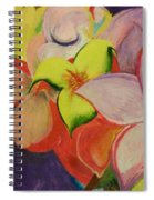 Exotic Flowers From The Islands Spiral Notebook