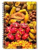 Exotic Fruit Spiral Notebook