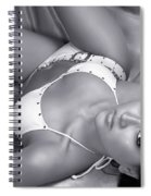 Exotic Hot Woman Spiral Notebook