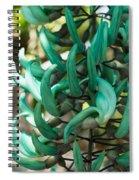 Exotic Jade Vine Spiral Notebook
