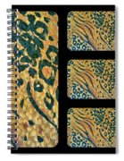 Exotic Repetitions Spiral Notebook