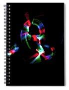 Expanding Light Spiral Notebook