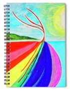 Expansive Flowing Colors In Nature Spiral Notebook