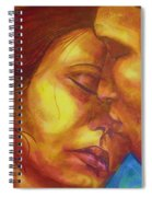 Expected Kisses Spiral Notebook
