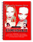 Expendable Poster Spiral Notebook