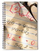 Experiment Notes In Applied Science Research Lab Spiral Notebook