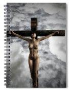 Experimental Female Crucifix 3d I Spiral Notebook