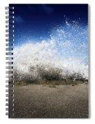 Exploding Seas Spiral Notebook
