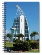 Exploration Tower Florida Spiral Notebook