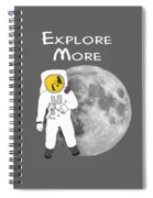 Explore The Universe Spiral Notebook