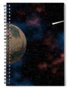 Exploring Planet Mars Spiral Notebook