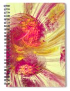 Explosion Of Color Spiral Notebook