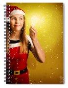 Explosive Christmas Gift Idea Spiral Notebook