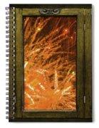 Exposion Of Light Spiral Notebook