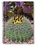 Expressionalism Budding Cactus Spiral Notebook