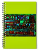 Extended Play Graffiti Radio/tonyadamo Spiral Notebook