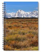 Extended Willow Flats Panorama Spiral Notebook