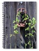 Extinguished Spiral Notebook