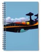 Extra 300s Stunt Plane Spiral Notebook