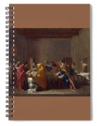 Extreme Unction Nicolas Poussin Spiral Notebook