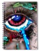 Eye Ball Study One Spiral Notebook