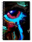Eye Ball Study Two Spiral Notebook