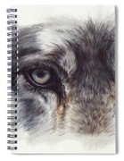 Eye-catching Wolf Spiral Notebook