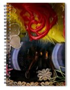Eye Glasses In Popart With Style Spiral Notebook