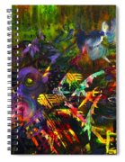 Eye In Chaos Spiral Notebook