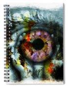 Eye In Hands 001 Spiral Notebook