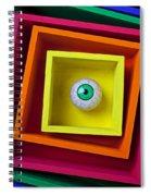 Eye In The Box Spiral Notebook
