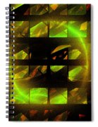 Eye In The Window Spiral Notebook