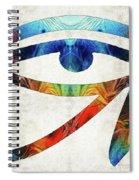 Eye Of Horus - By Sharon Cummings Spiral Notebook