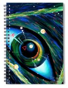Eye Of Immortal Eternity. Timeless Space 2 Spiral Notebook