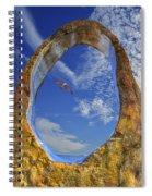 Eye Of Odin Spiral Notebook